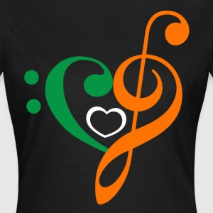 Irish Music Clef T-Shirts - Frauen T-Shirt