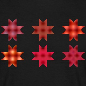 Star of dots - Men's T-Shirt