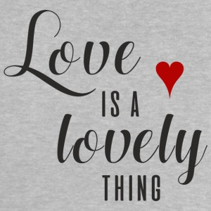 LOVE IS A LOVELY THING Baby T-Shirts - Baby T-Shirt