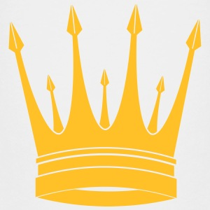 krona / kung / Crown / King T-shirts - Premium-T-shirt barn