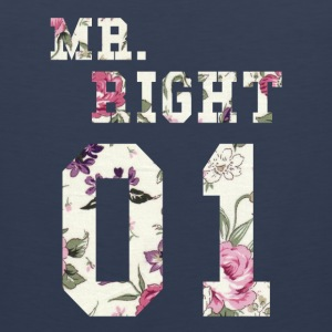 MR. RIGHT! (Partner skjorte 2of2) Sportsklær - Premium singlet for menn
