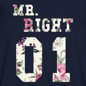 MR. RIGHT ! (Partenaire chemise 2of2) Tee shirts - T-shirt Homme col V