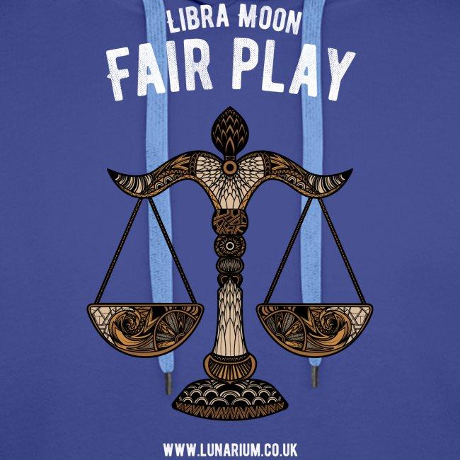 Libra Moon Men's Premium Hoodie