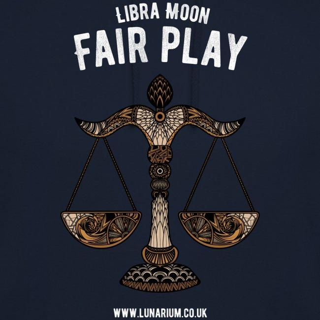 Libra Moon Unisex Hoodie