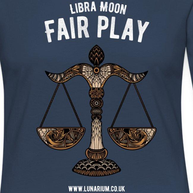 Libra Moon Women's Premium Longsleeve Shirt