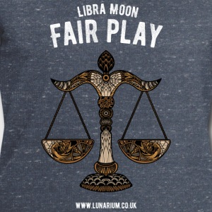 Libra Moon Men's sweatshirt by Stanley & Stella  - Men's Sweatshirt by Stanley & Stella
