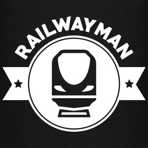 Railway Railwayman Cheminot Train Eisenbahn Shirts - Kids' Premium T-Shirt