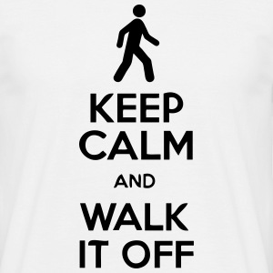 Keep Calm And Walk It Off T-Shirts - Men's T-Shirt