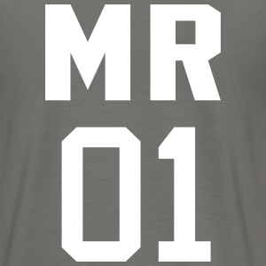 Mr 01 T-shirts - Mannen T-shirt
