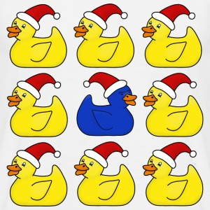 Christmas rubber ducks t-shirt for men - Men's T-Shirt