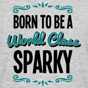 sparky born to be world class 2col - Men's T-Shirt