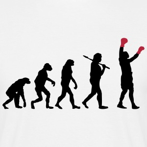 Boxing Evolution T-Shirts - Men's T-Shirt