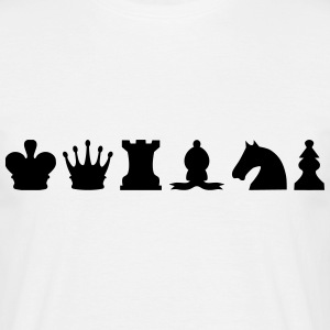 Chess Pieces T-Shirts - Men's T-Shirt