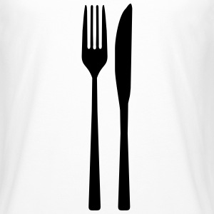 Messer Gabel - Spoon Fork T-Shirts - Männer Urban Longshirt