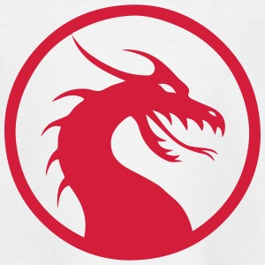 Anime Dragon Logo, Symbol Shirts - Kids' T-Shirt