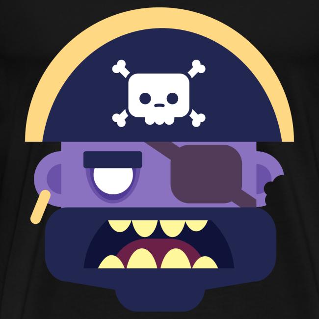 Captain Zed - Herre premium T-shirt