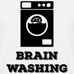 Funny Design Brain Washing (Brainwashed) T-Shirts - Men's T-Shirt