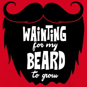 waiting for my beard to grow T-Shirts - Teenager T-Shirt