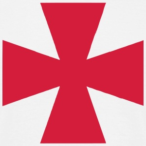 Cross Crusader Medieval Symbol T-Shirts - Men's T-Shirt