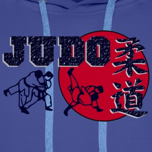 Sweat-shirt action  JUDO sport - Sweat-shirt à capuche Premium pour hommes