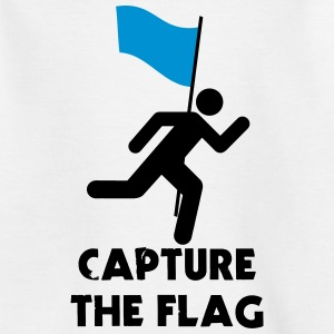 Capture The Flag Stickfigure Shirts - Kids' T-Shirt