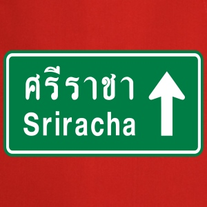 Sriracha, Thailand / Highway Road Traffic Sign  Aprons - Cooking Apron