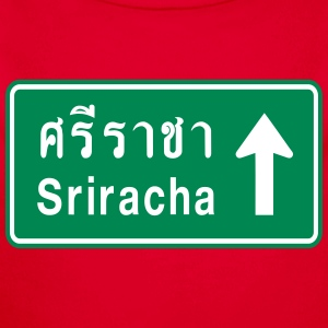 Sriracha, Thailand / Highway Road Traffic Sign Baby Bodysuits - Longlseeve Baby Bodysuit