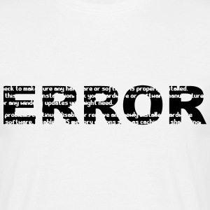 ERROR (Computer) T-Shirts - Men's T-Shirt