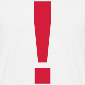 Exclamation Mark ! T-Shirts - Men's T-Shirt