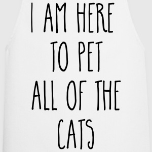 Pet All The Cats Funny Quote   Aprons - Cooking Apron
