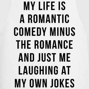 Romantic Comedy Funny Quote  Aprons - Cooking Apron