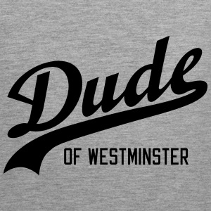 Dude of Westminster Sportsklær - Premium singlet for menn