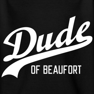 Dude of Beaufort T-shirts - Teenager-T-shirt