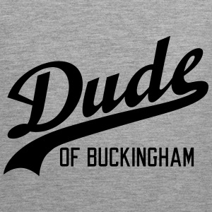 Dude of Buckingham Sportsklær - Premium singlet for menn