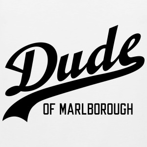 Dude of Marlborough Sportsklær - Premium singlet for menn