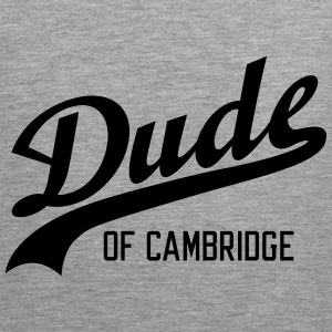 Dude of Cambridge Sportsklær - Premium singlet for menn