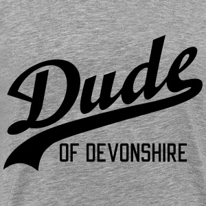 Dude of Devonshire T-shirts - Herre premium T-shirt