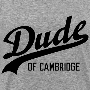 Dude of Cambridge T-shirts - Herre premium T-shirt