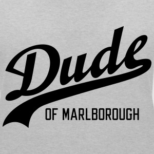 Dude of Marlborough T-shirts - Dame-T-shirt med V-udskæring