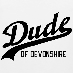 Dude of Devonshire Sportsklær - Premium singlet for menn