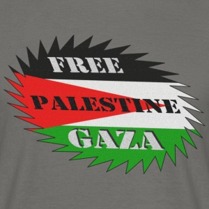 TEE SHIRT FREE GAZA PALESTINE HOMME - T-shirt Homme