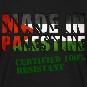 T-shirt homme | Made in Palestine - 100% résistan - T-shirt Homme