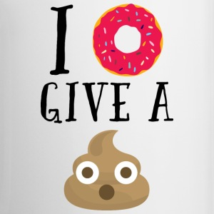 Donut Give A Sh*t Funny Quote  Mugs & Drinkware - Mug