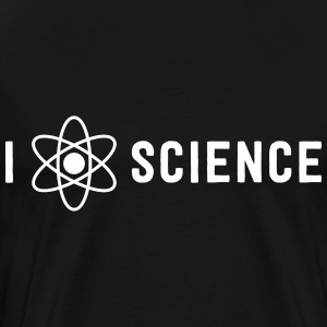 I atom science T-Shirts - Men's Premium T-Shirt