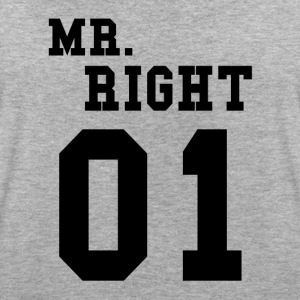 MR. RIGHT! (Partner shirt 2of2) T-Shirts - Women's Oversize T-Shirt