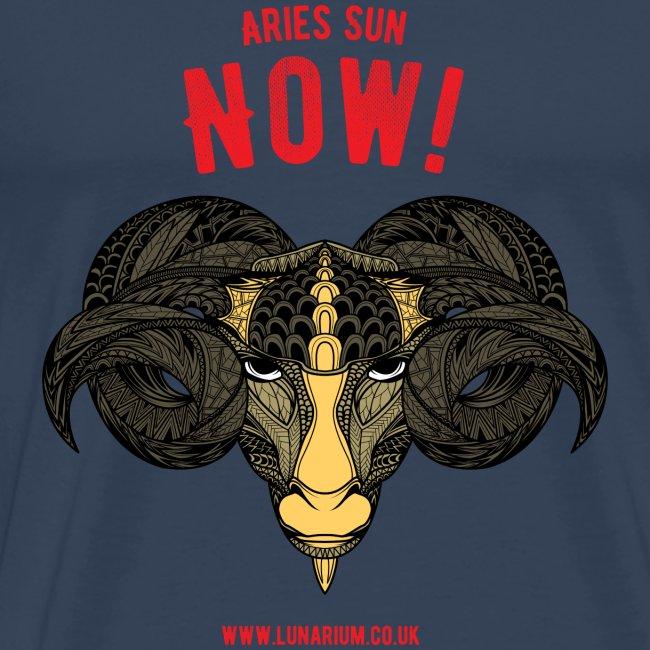 Aries Sun Men's Premium T-Shirt