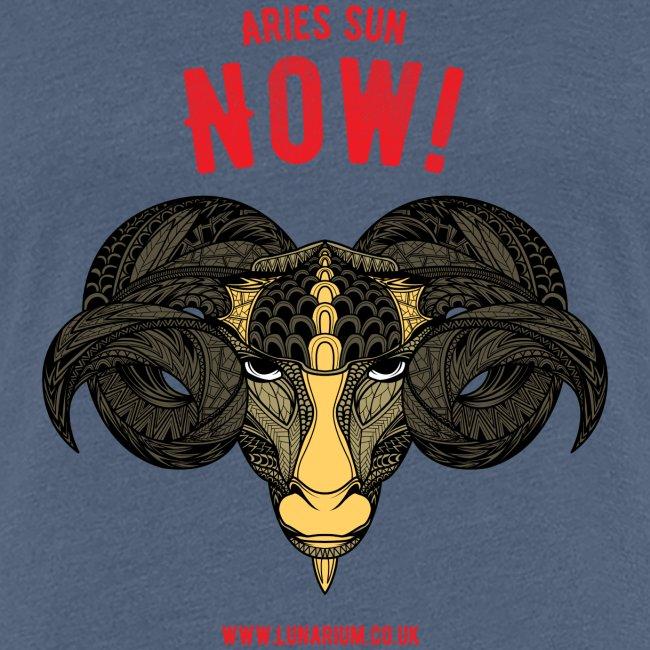 Aries Sun Women's Premium T-Shirt