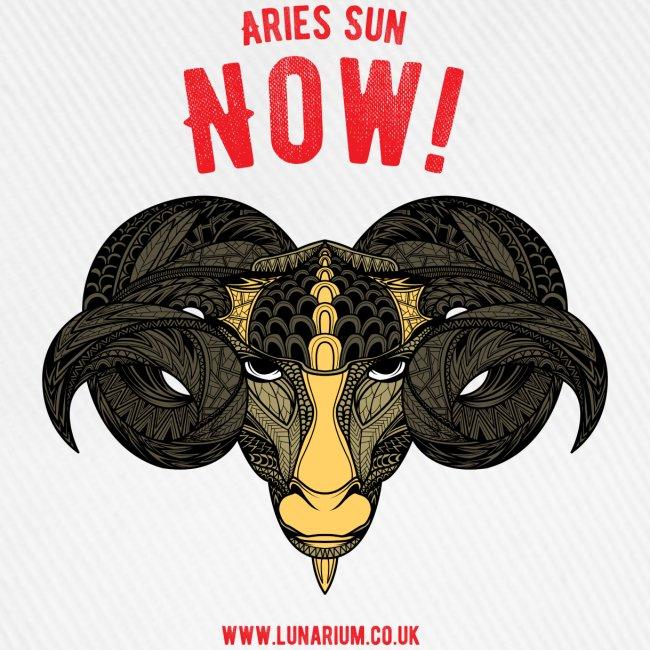 Aries Sun Baseball Cap