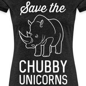 Save the chubby unicorns T-Shirts - Women's Premium T-Shirt