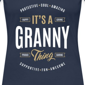 Granny T-shirts Gifts - Women's Premium T-Shirt